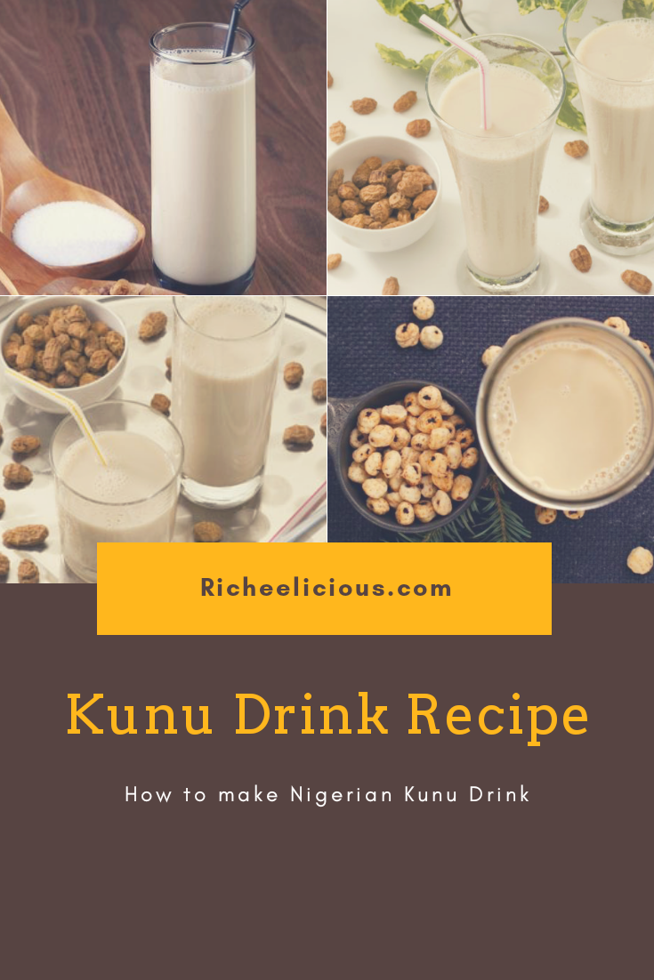 How to make Kunu drink