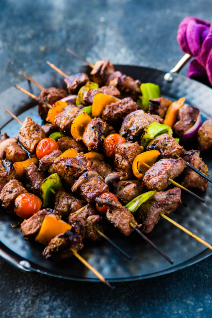 how to make spicy stick meat or Beef Skewers/Kebabs