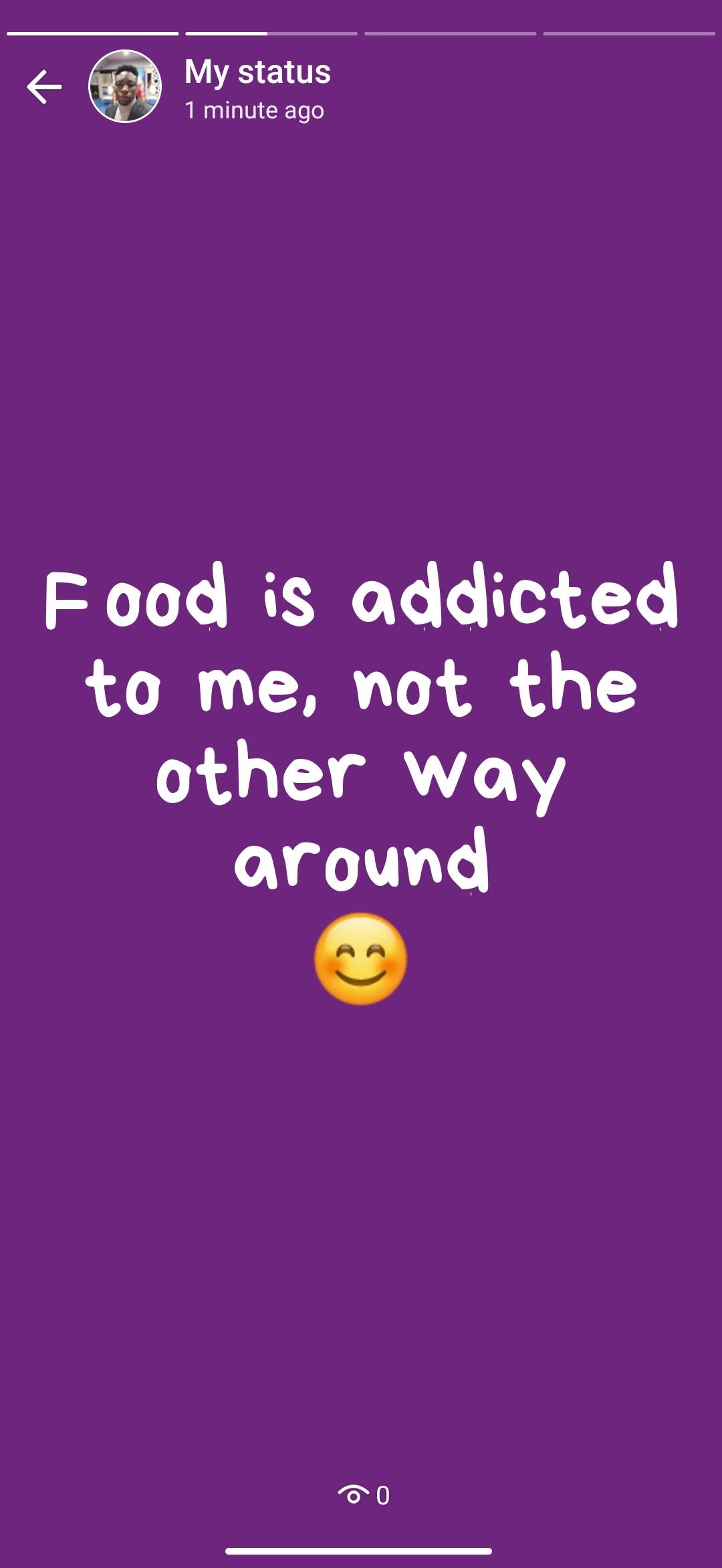 Food Status For WhatsApp